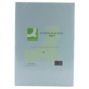 Q-Connect Coloured Copier Paper A4 80gsm Blue Ream