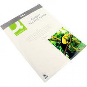 Q-Connect Photo Gloss Paper A4 180gsm Pack of 20 KF01103