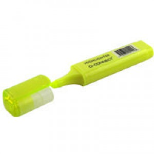 Q-Connect Highlighter Pen Yellow