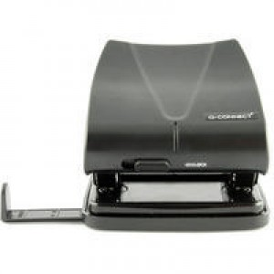 Q-Connect Standard Duty Hole Punch Black