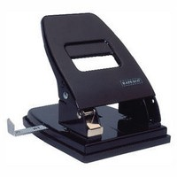 Q-Connect Extra Heavy Duty Hole Punch Black