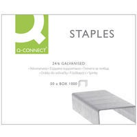 Q-Connect Staples 24/6 Pack of 1000