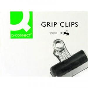 Q-Connect Grip Clip 75mm Pk 10 KF01291