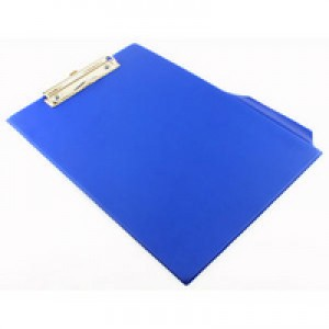 Q-Connect PVC Clipboard Foolscap/A4 Blue KF01297