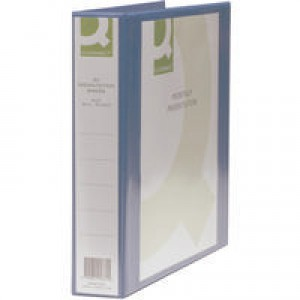 Q-Connect Presentation 4D-Ring Binder 40mm A4 Blue