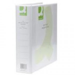 Q-Connect Presentation 4D-Ring Binder 50mm A4 White