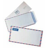 Q-Connect Airmail Envelope Printed 70gsm DL Pack of 500