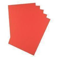 Q-Connect Coloured Copier Paper A4 80gsm Bright Red Ream