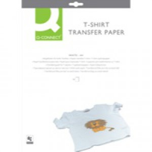 Q-Connect T Shirt Transfer Paper Pack of 10 KF01430