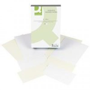 Q-Connect Business Paper A4 100gsm Laid White Ream