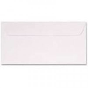 Q-Connect Envelope DL Self-Seal Laid White Pack of 500 KF01439