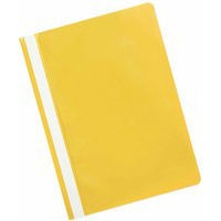 Q-Connect Project Folder A4 Yellow Pack of 25