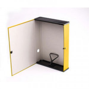 Q-Connect Box File Foolscap Yellow