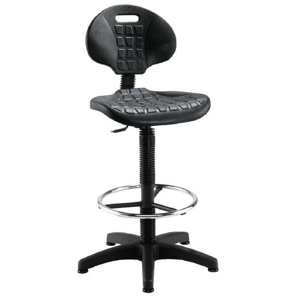 Jemini Draughtsman Chair Black