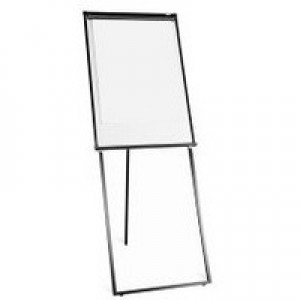 Q-Connect Deluxe Magnetic Flipchart Easel