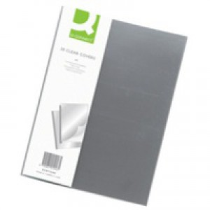 Q-Connect Clear Binding Folder Pack of 20 KF01946