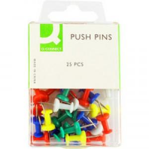 Q-Connect Push Pin (Pk 250) KF02029Q