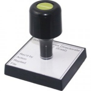 Q-Connect Voucher For Rubber Stamp 90x55mm