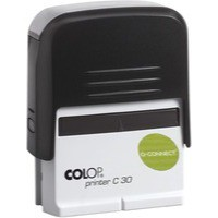 Q-Connect Voucher for Self-Inking Stamp 55x20mm