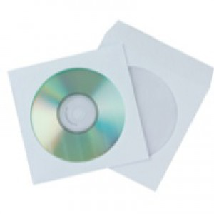 Q-Connect CD Envelope Paper Pack of 50 KF02206
