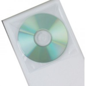 Q-Connect CD Envelope Polypropylene Pack of 50 KF02207