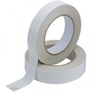 Q-Connect Double-Sided Tape 25mm x33 Metres