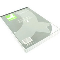 Q-Connect Refill Pad A4 Plain Punched 2-Hole Head Bound 80 Leaf