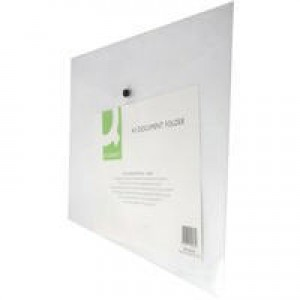 Q-Connect Document Folder Plastic A3 Clear KF02464