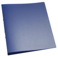 Q-Connect 2-Ring Binder A4 Frosted Blue