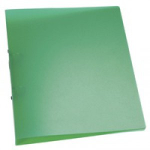 Q-Connect 2-Ring Binder A4 Frosted Green