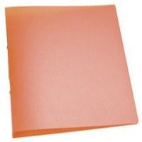 Q-Connect 2-Ring Binder A4 Frosted Orange