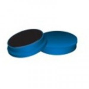 Q-Connect Magnet 25mm Blue Pack of 10 KF02640