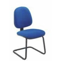 Jemini Medium Back Visitor Chair Blue