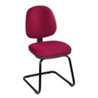 Jemini Medium Back Visitor Chair Claret