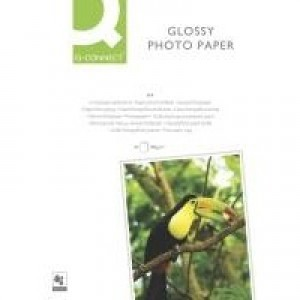 Q-Connect A4 Gloss Photo Paper 180gsm Pack of 50 KF02771