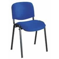 Jemini Ultra Multi-Purpose Stacking Chair Black Legs/Blue