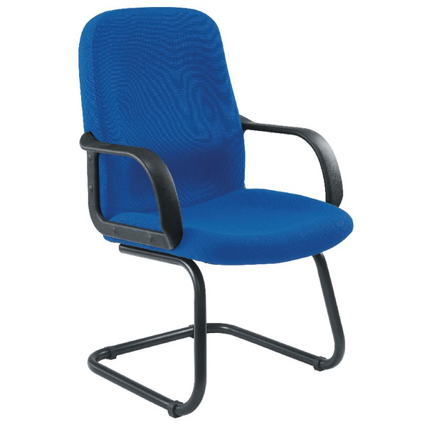 Jemini Managers Visitor Cantilever Leg Chair Blue