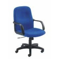 Jemini Managers Visitor Star Leg Chair Blue