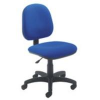 Arista Concept Medium Back Permanent Contact Operators Chair Blue