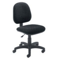Arista Concept Medium Back Permanent Contact Operator Chair Charcoal