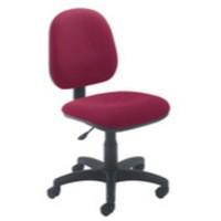 Arista Concept Medium Back Permanent Contact Operators Chair Claret