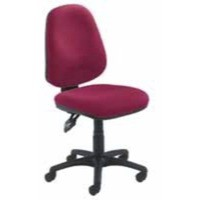 Arista Concept High Back Permanent Contact Operator Chair Claret