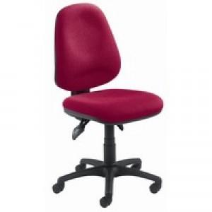 Arista Concept High Back Maxi Tilt Operators Chair Claret KF03466