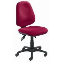 Arista Concept High Back Maxi Tilt Operators Chair Claret
