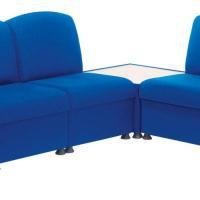 Arista Modular Reception Chair Blue