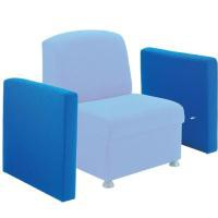 Arista Modular Reception Coffee Table Blue