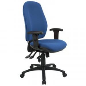 Cappela High Back Posture Chair Blue KF03497