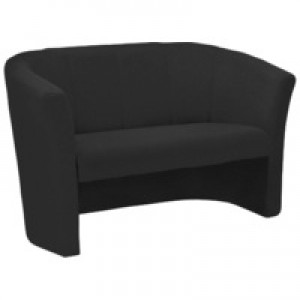 Arista 2 Seat Fabric Tub Charcoal