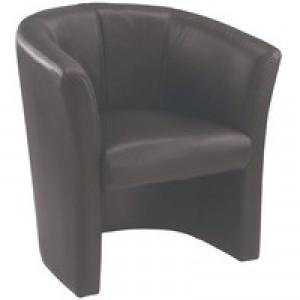 Arista Tub Chair Black KF03527