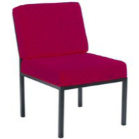 Jemini Reception Seat Claret